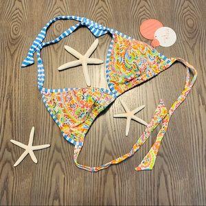 Profile Blush by Gottex tri bikini top L D cup